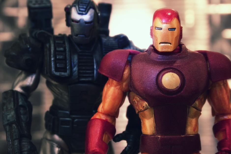 Retro Iron Men
